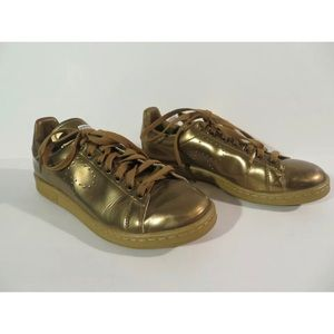 Adidas Raf Simmons Stan Smith Sneakers Gold